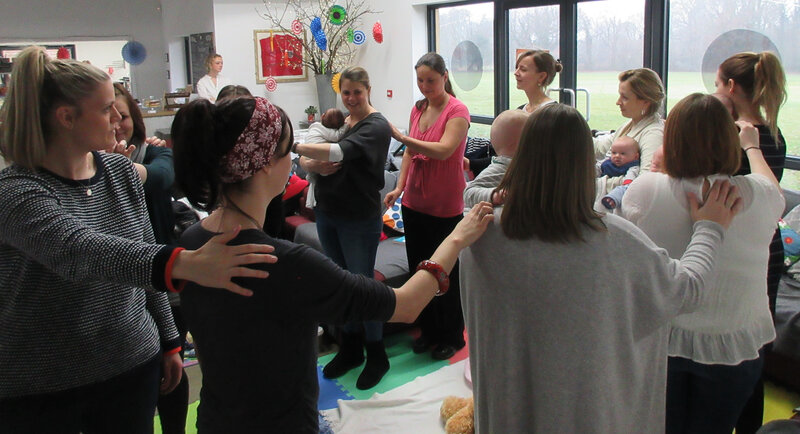 Family Story Massage Workshop block mentored by Katie Smith