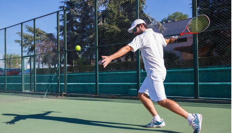 Tennis Lessons  block mentored by Joel Lock