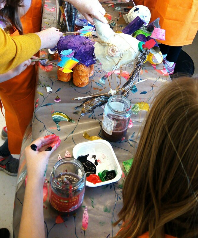 Kids Create block mentored by Nell Price
