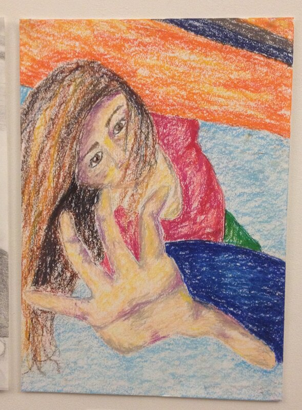 GCSE Art Support block mentored by Annabel Kapp
