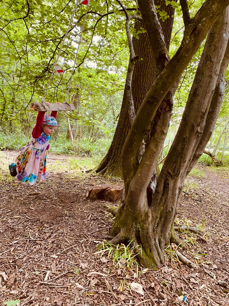 Woodland Magic at Lymley Woods session mentored by Lorna  Hendley