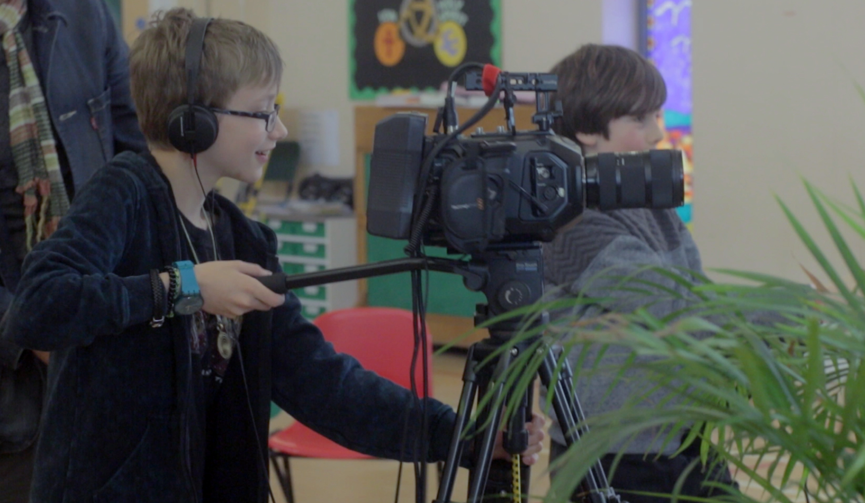 4 day Children's Film Making Summer Camp course mentored by Clive Martin
