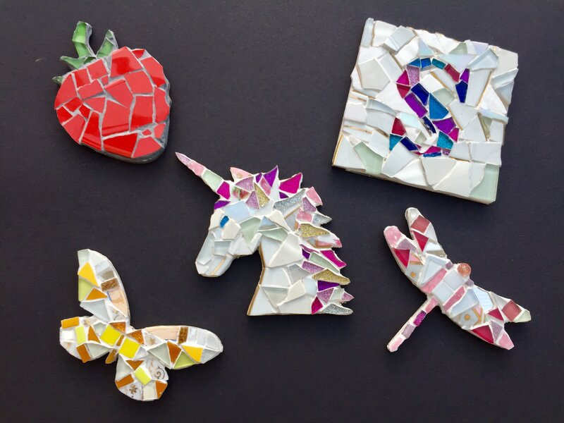 Mosaic Sessions block mentored by Mandy Yeoman