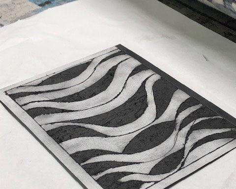 Printmaking Workshop workshop mentored by Catherine Greenwood