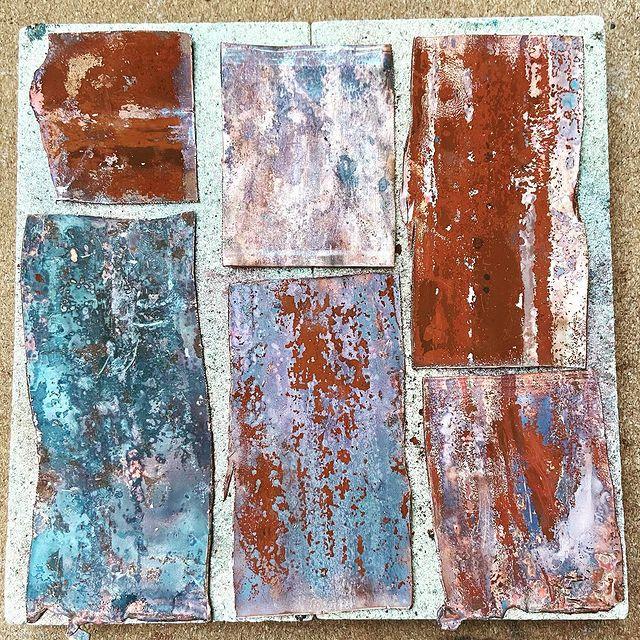 Copper Forging for Beginners workshop mentored by Dee Heyward-Ponte
