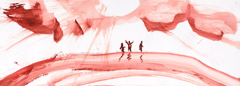 After School Art Club block mentored by Diana Krilova