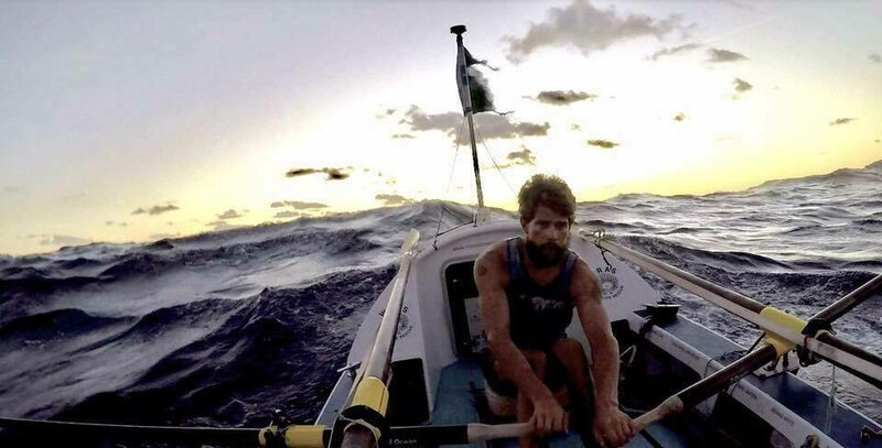 Row Across the Atlantic Ocean: In search of yourself block mentored by Mike Watson