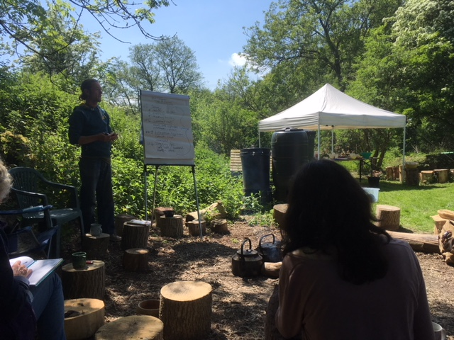Medicine for the Earth, Medicine for Ourselves camp mentored by Phil Greenwood