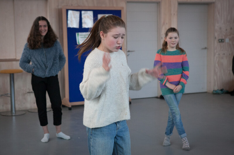 The New Drama Group for Home Educators block mentored by Jo McInnes