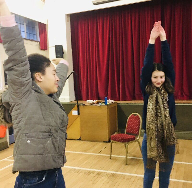 Forest Row Youth Rock Choir block mentored by Christine Rose