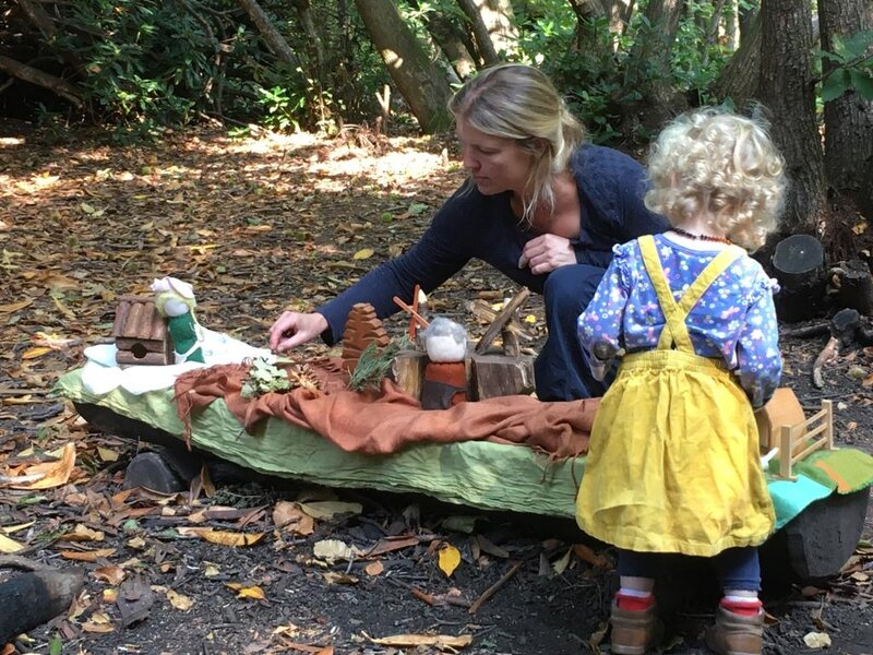 Woodland Magic at Chelwood Gate block mentored by Lorna  Hendley