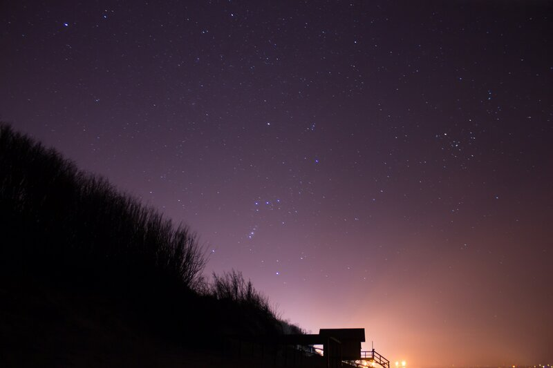 Watching the Sky: Winter Constellations block mentored by Elaine Eichner