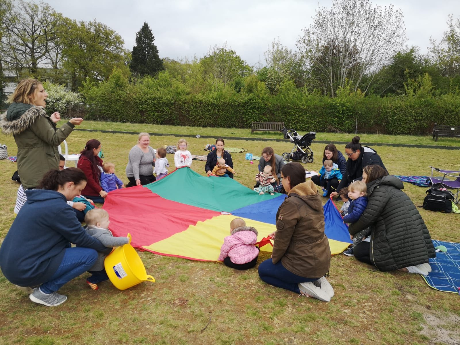 Outdoor Mum's Club  course mentored by Rebecca Winslade