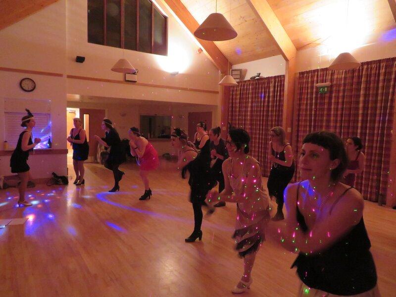 Teen Charleston Dance Class block mentored by Katie Smith