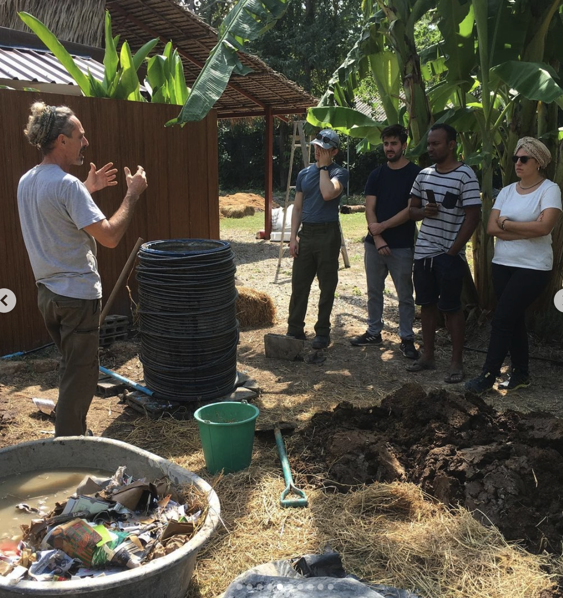 Soils, Growing, Compost & Heating  block mentored by Ed Dale-Harris