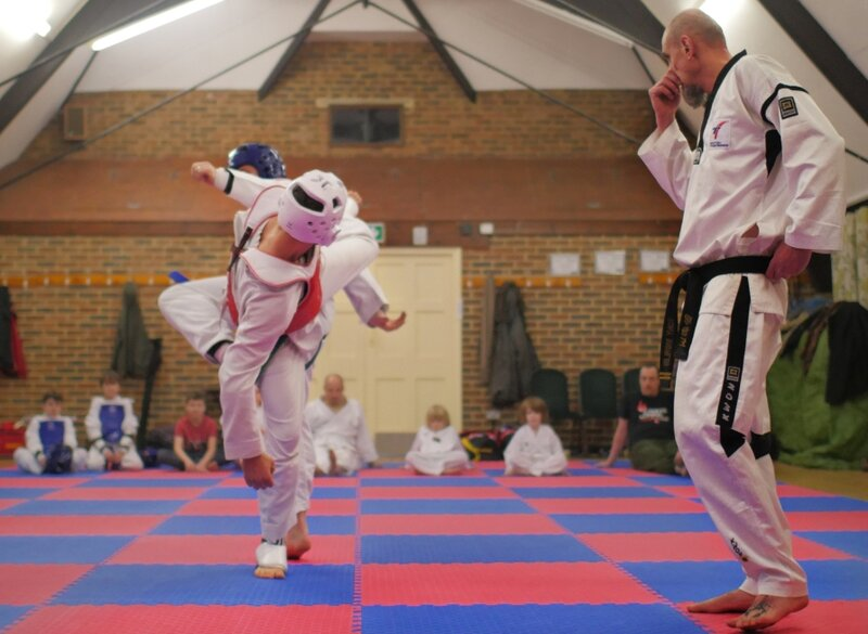 Introduction to Taekwondo, a Korean martial art and system of self defence block mentored by James Gott