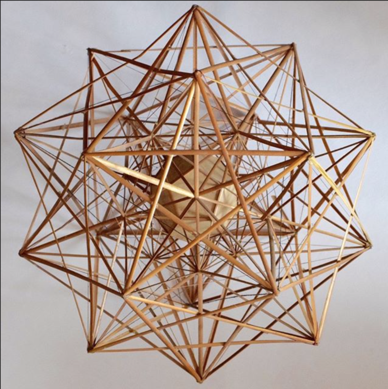 The Golden Ratio:  Jewel of Geometry and Cosmos block mentored by Sacred Art of Geometry Studios Docherty
