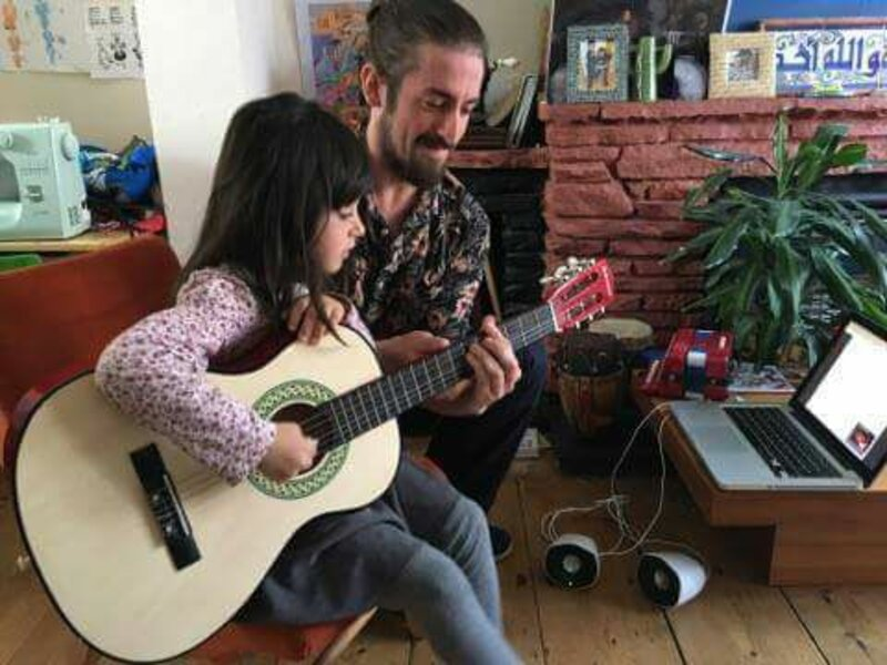 A Music Lesson In Your Own Home block mentored by Ryan Bradley