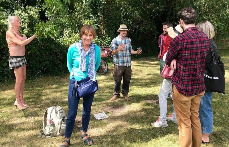 Wild Food Forage in East Sussex block mentored by Fergus Drennan
