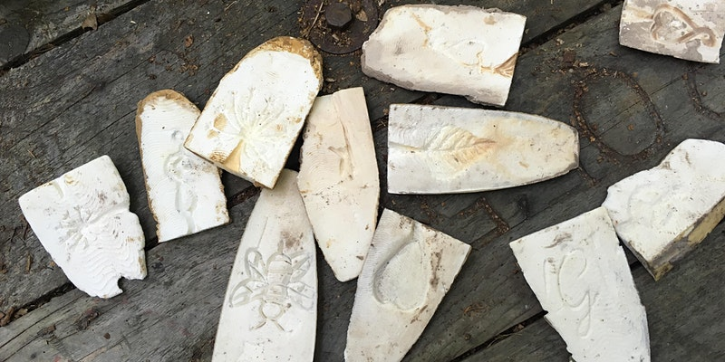 Full Day Pewter Casting in the Woods workshop mentored by Dee Heyward-Ponte