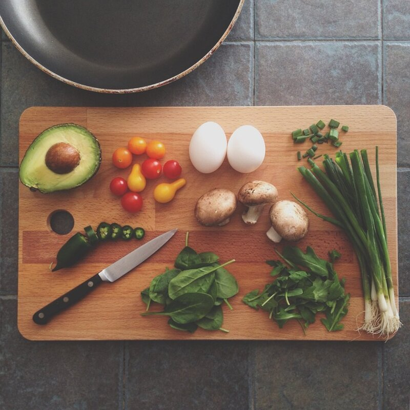 Weekly Cooking Challenges block mentored by Caroline Westoll