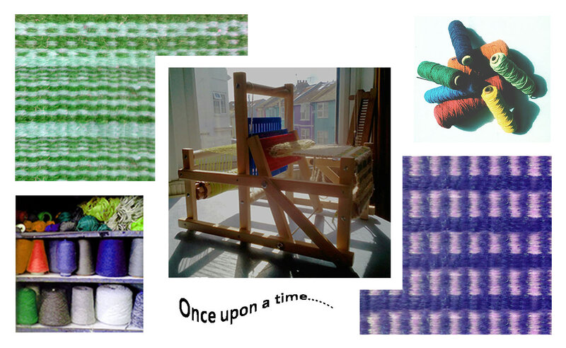 Weave your own story block mentored by Claire Bessel