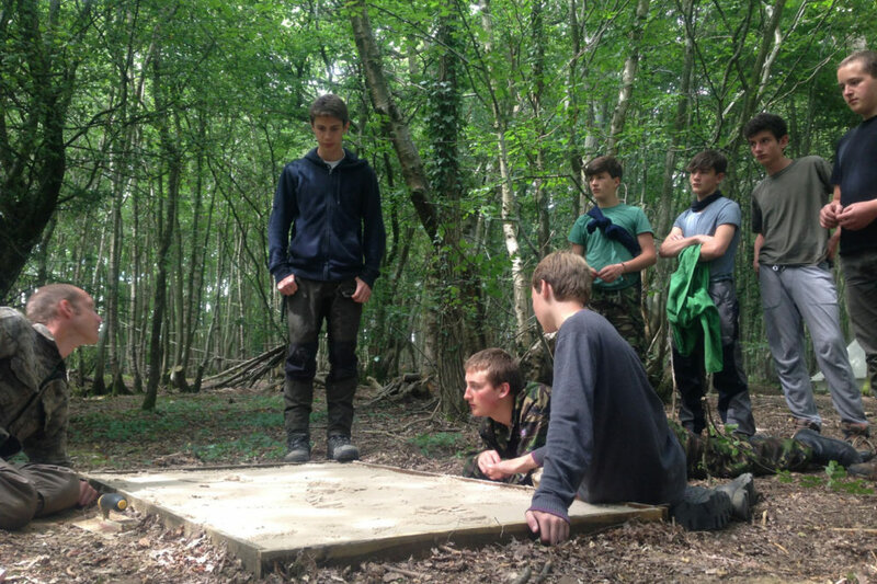 The Earth Steward Apprenticeship camp mentored by Phil Greenwood