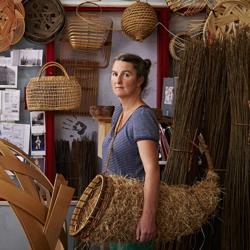 The Art of Willow Basketry block mentored by Sacred Art of Geometry Studios Docherty
