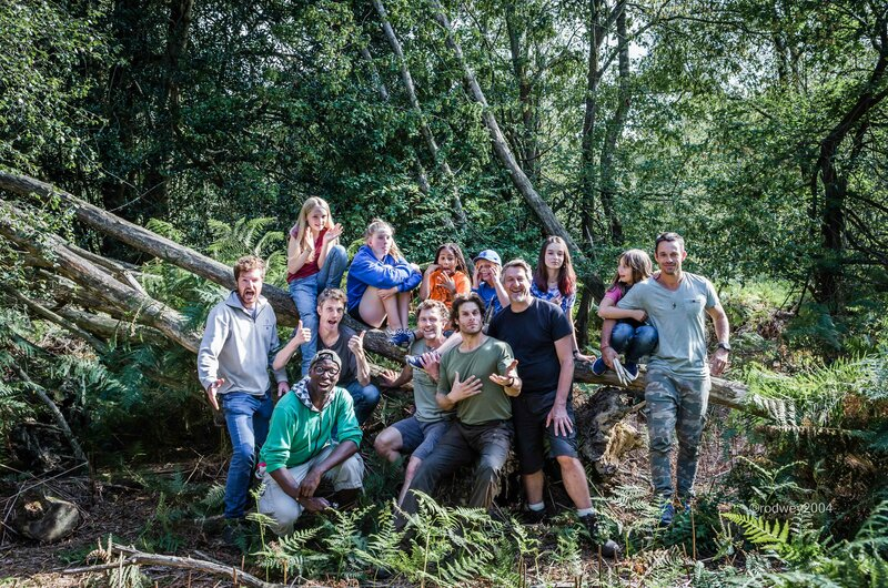 Feral Fathers, Dangerous Daughters: a wild woodland weekend block mentored by Chris Packe