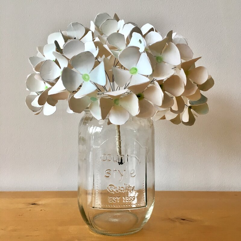Crazy Daisy. Paper Flower Making block mentored by Nicola Stephenson