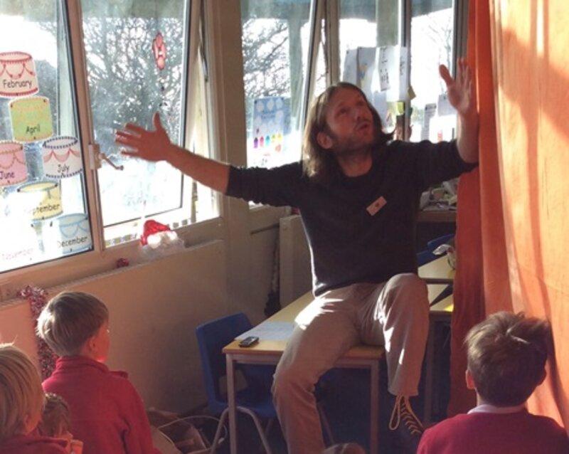 Viking Myths! Storytelling and workshop block mentored by Jon Mason
