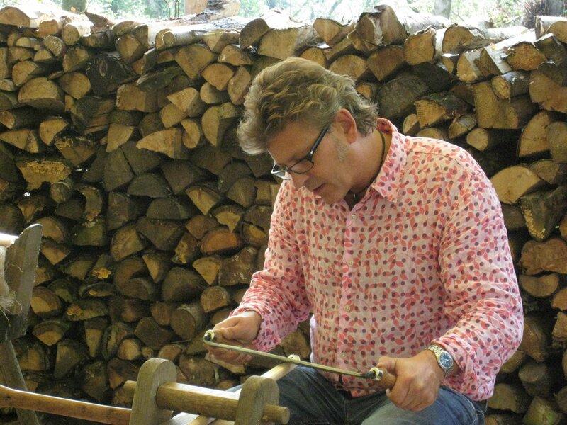 Green woodworking - Make a Chair block mentored by Forest Garden Shovelstrode Shovelstrode