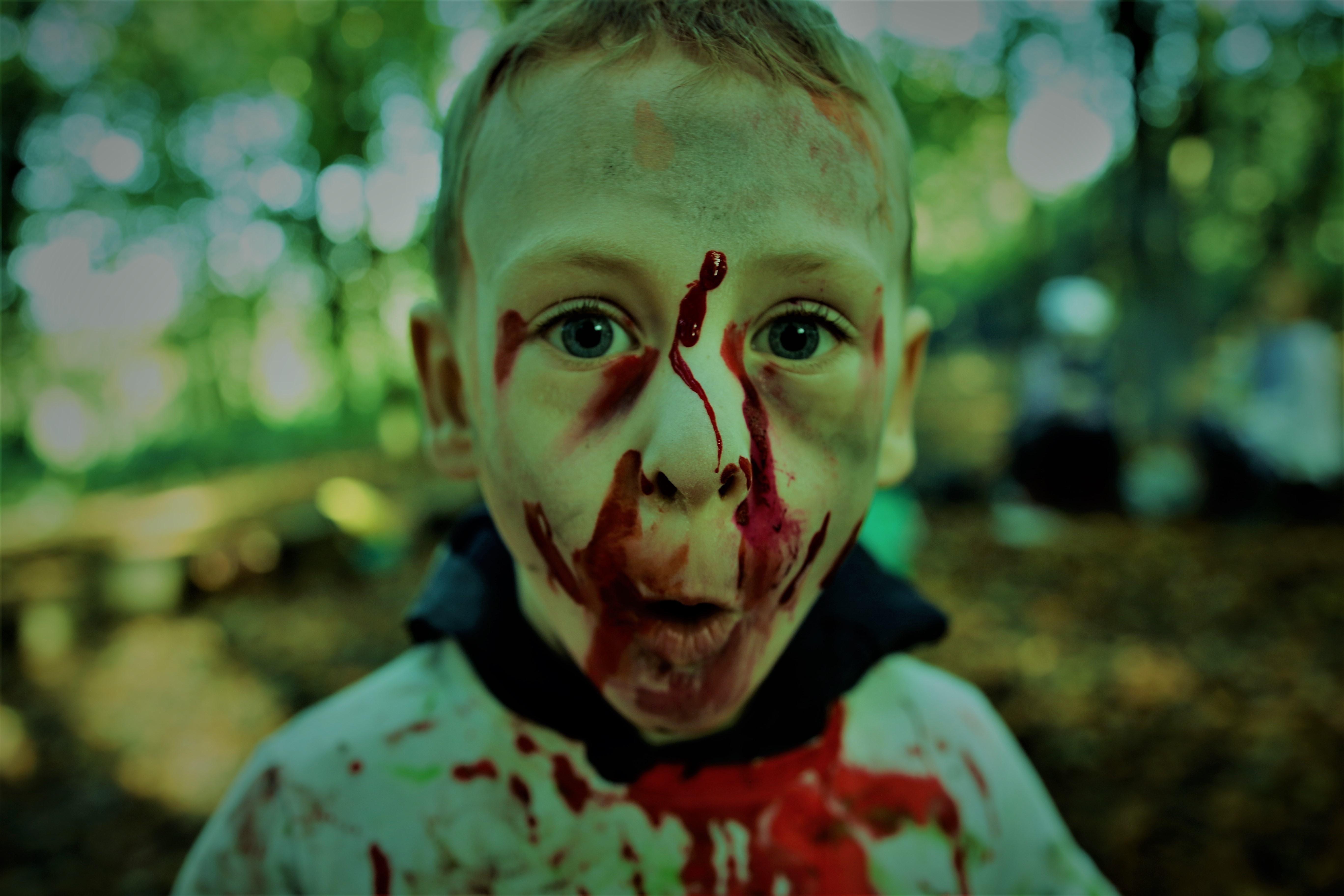 Wild Child Zombie Day session mentored by Luke Funnell