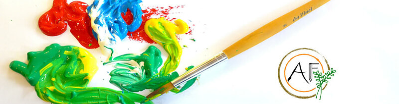 Acrylic Painting Workshops block mentored by Nell Price