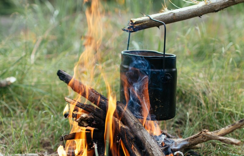 An introduction to Bushcraft and Nature Connection block mentored by Luke Funnell