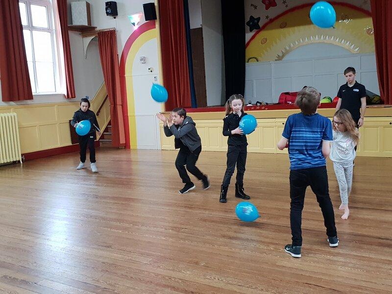 Sport and Sensory Social Youth (SASSY) Holiday Club block mentored by Loretta Lock