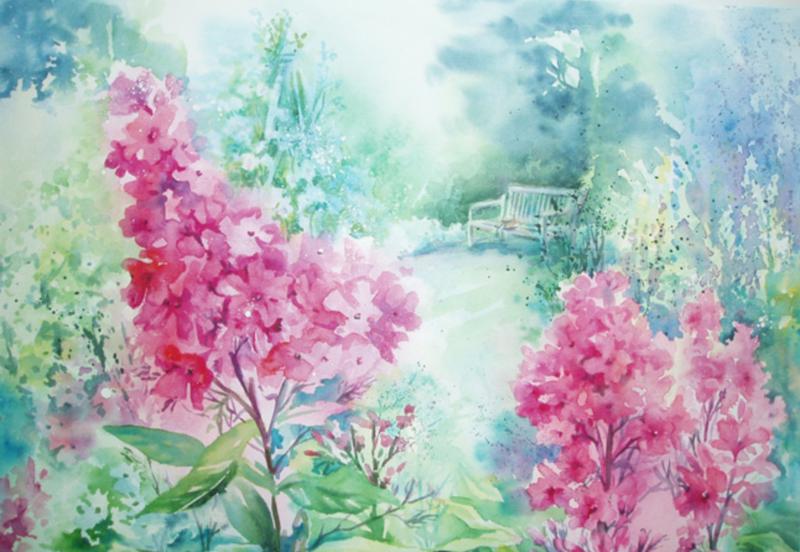 Wonderful Watercolour block mentored by Julie King