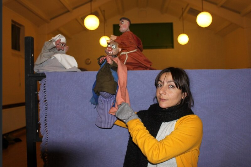 All about Puppets block mentored by Sabrina Daniele