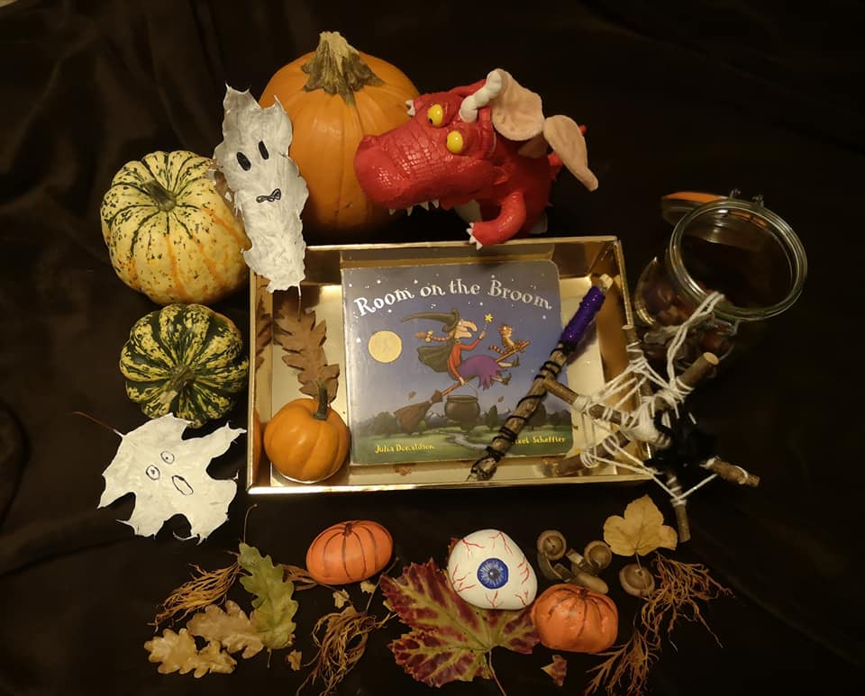 Halloween special  event mentored by Rebecca Winslade