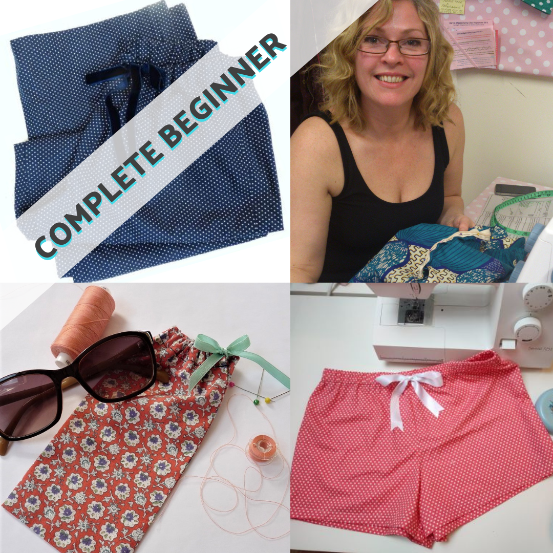 Ultimate Complete Beginners Sewing Day workshop mentored by Kat Neeser