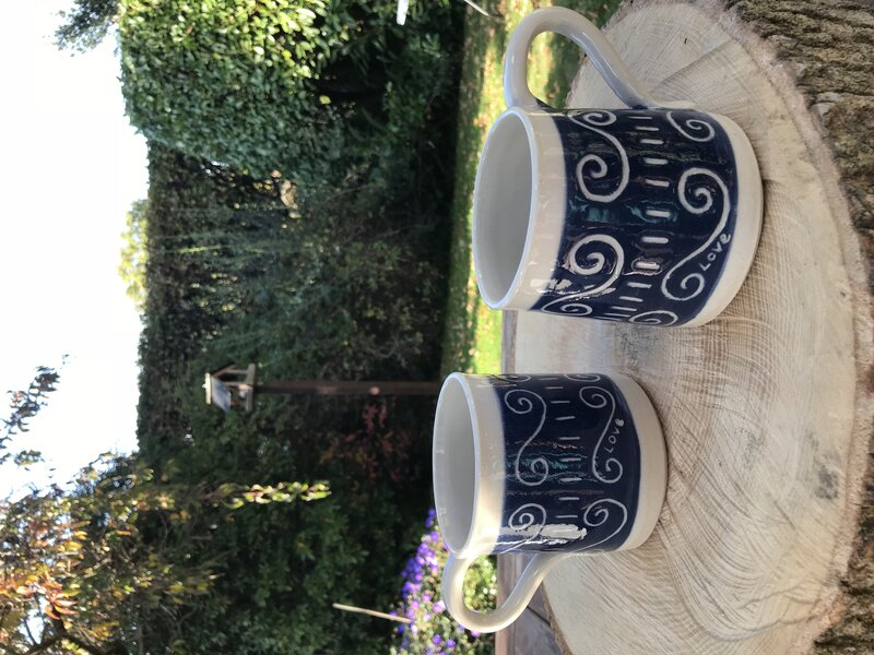 Make simple pottery sets.  block mentored by Ximena Heasman