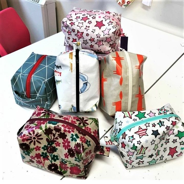 Sewing With Oilcloth - Apron or Bag workshop mentored by Kat Neeser