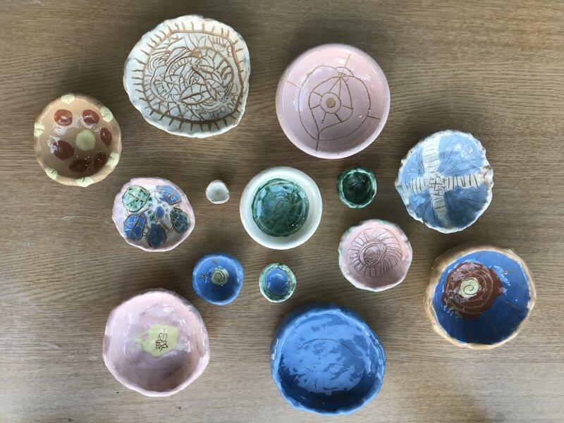 Summer Pottery workshop  block mentored by Ximena Heasman