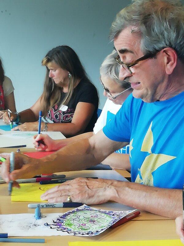 Doodle Cafe : Art for Mental Health course mentored by Vikki Parker