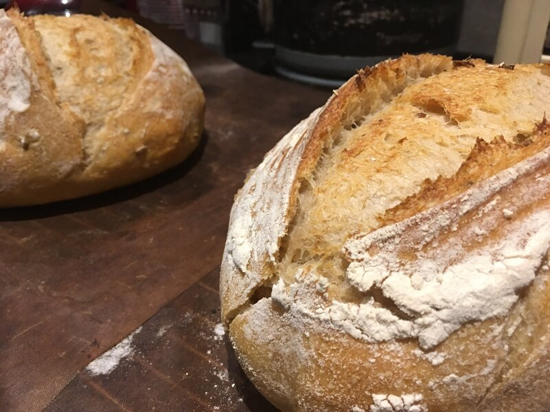 Introduction to Bread-Making (for adults) block mentored by Anna Haynes
