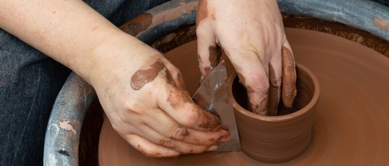 Experience Wheel Throwing - Pottery block mentored by Jayne Bunting