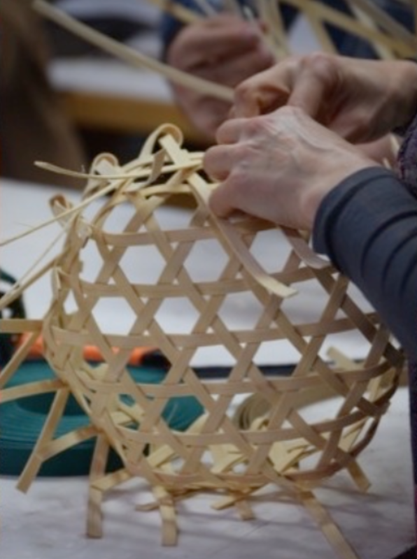 Weaving the Cosmos block mentored by Sacred Art of Geometry Studios Docherty
