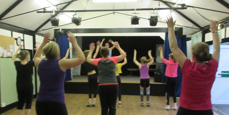 Dance fitness  block mentored by Katie Smith