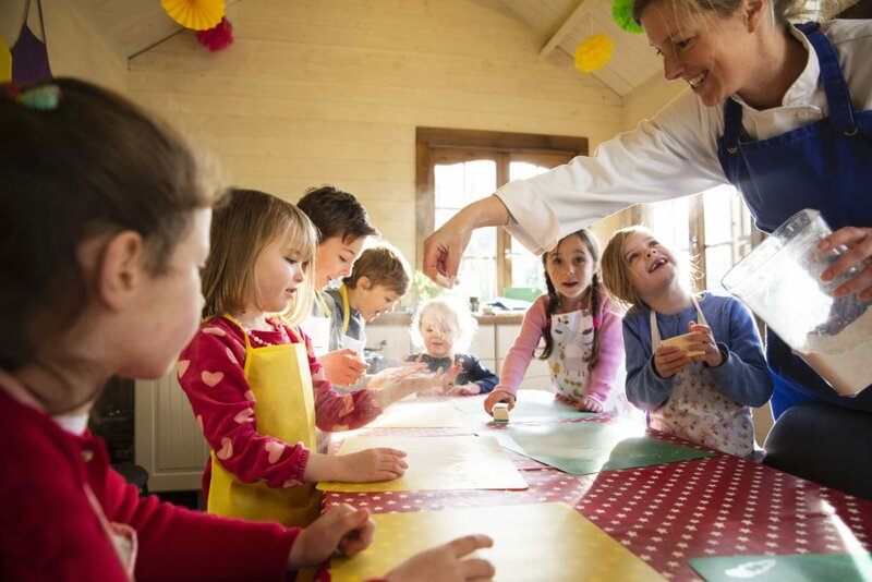 LITTLE WREN'S TODDLER COOKING CLASSES lesson mentored by Lisa James