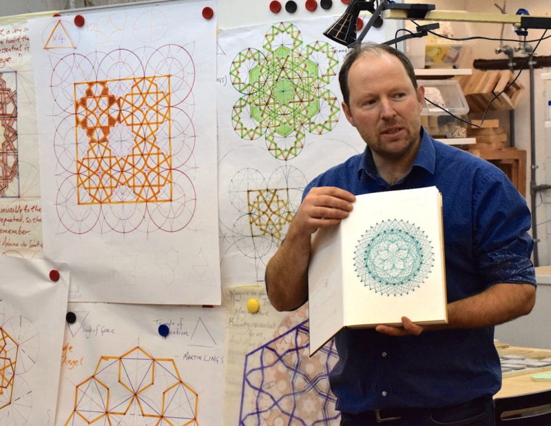 Patterns of the Planets: The Dance of Earth and Venus and other heavenly harmonies. block mentored by Sacred Art of Geometry Studios Docherty